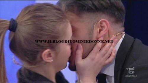 Alessia e Aldo Palmeri il bacio della scelta il piu' bello.