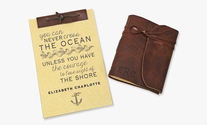image for Personalized Antique Notebooks & Leather Journals from Monogram Online