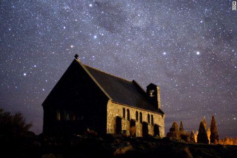 Sky above New Zealand