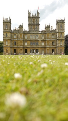 conflictingheart:  Highclere Castle - Downton Abbey