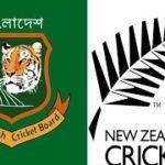 Bangladesh vs New Zealand 2nd ODI Live Cricket Score Streaming