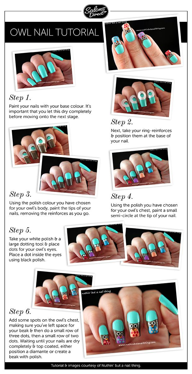 26 best Nail Art Tutorials images on Pinterest | Nail art tutorials ...