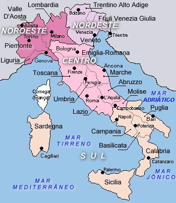 Resultado de imagen de mapa italia