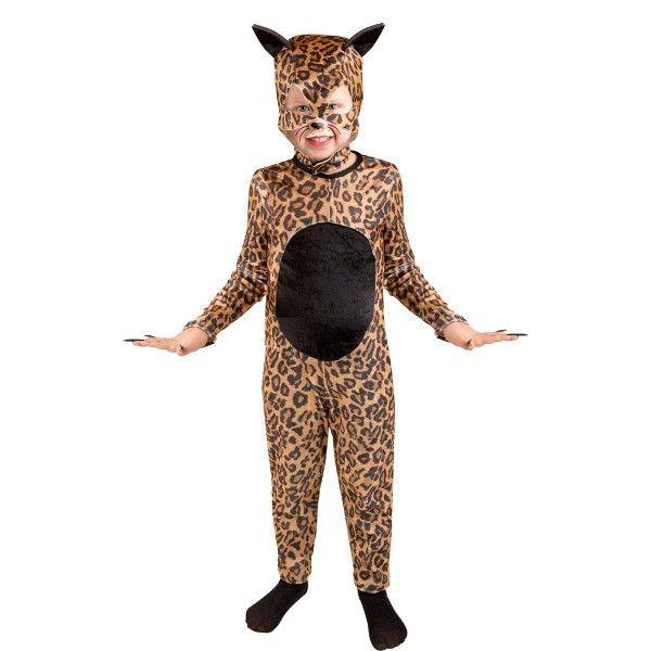 Child Cheetah Cat Girl Costume