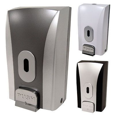 Soap #dispenser wall mount bulk fill #liquid ##dispensers commercial bathroom toil,  View more on the LINK: 	http://www.zeppy.io/product/gb/2/181943928658/