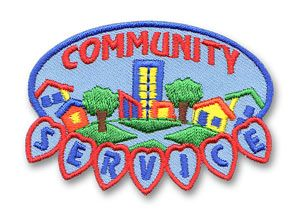 Ahg Activity Patches Community Service Patch Girl Scout
