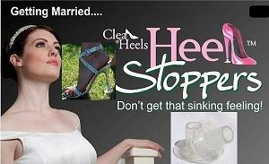 Clean Heels Heel Stoppers. National Trust Approved.
