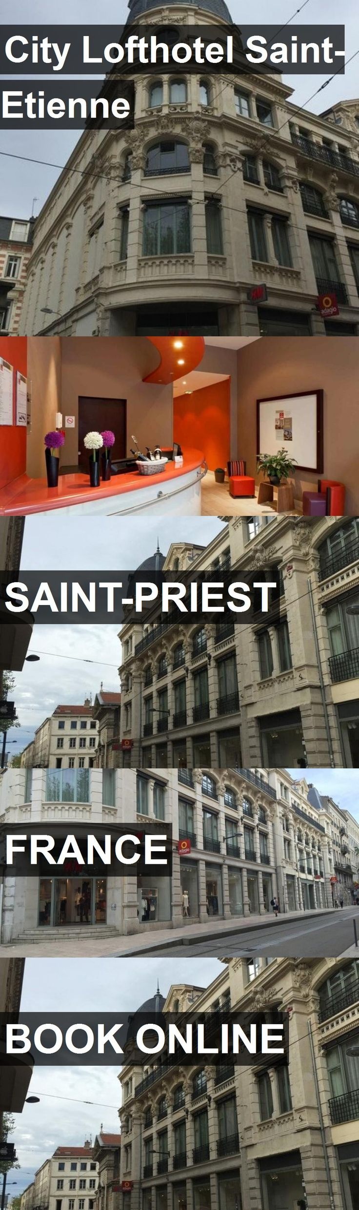 City Lofthotel Saint-Etienne in Saint-Priest, France. For more information, photos, reviews and best prices please follow the link. #France #Saint-Priest #travel #vacation #hotel