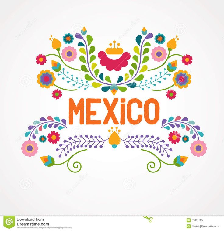 Mexico Flowers, Pattern And Elements - Download From Over 49 Million High Quality Stock Photos, Images, Vectors. Sign up for FREE today. Image: 51681505
