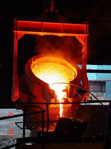 cucharas colada y yugo boilermaking, steel tanks, steel structures