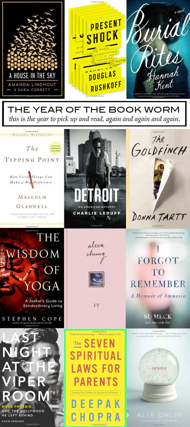 The best books to read in 2014.