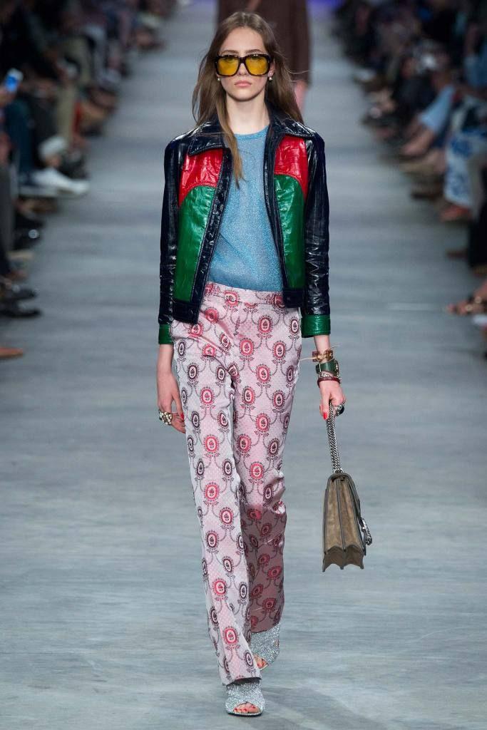 Pantalon tipo Oxford #Gucci #2016 #AmorLibre