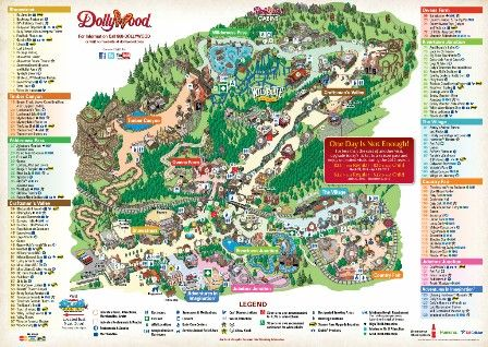 Dollywood in Pigeon Forge, TN. I have visited this theme park many times since it opened in 1986.