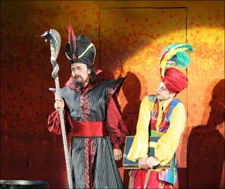Aladdin Musical: July 2012