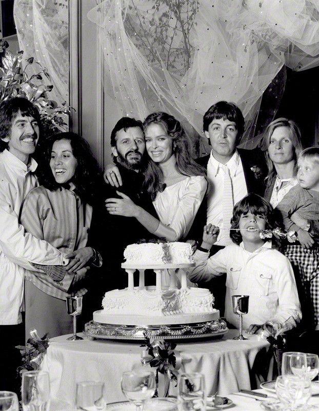 Celebrity Weddings--Ringo Starr and Barbara Bach 1981