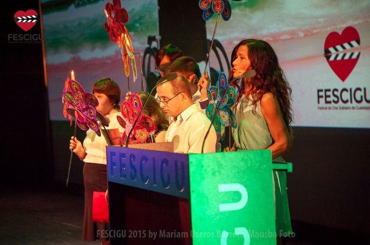 Gala Inaugural del XIII Festival de Cine Solidario de Guadalajara. Asociación Down Guadalajara. Fecha: 29/09/2015 Foto: Mariam Useros Barrero/Mausba Foto.