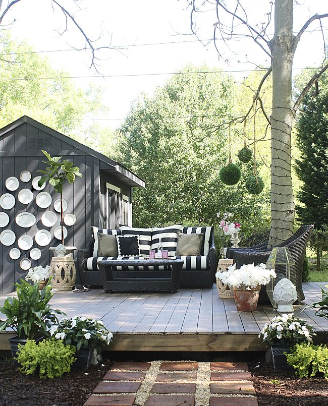 Summer Home Tour. out door space