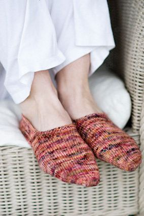 Turkish Bed Socks Pattern - have made these lots and they are fast to knit and comfy