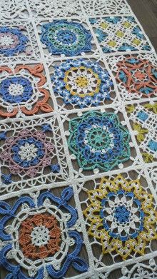 117 best images about persian turkish marocan tile crochet for Thread pool design pattern