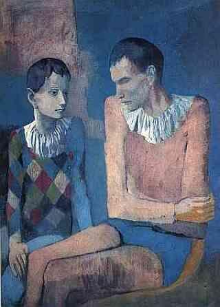 Pablo Picasso - periodo rosa -sa