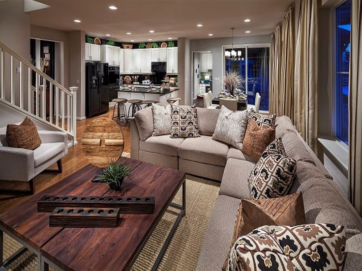 Ryland homes huntington model
