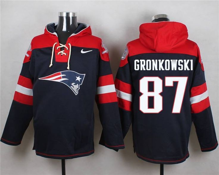 #NFL New England #Patriots Gronkowski Jersey Hoodie 2xl (52) Nwt Ships Immediately from $95.0