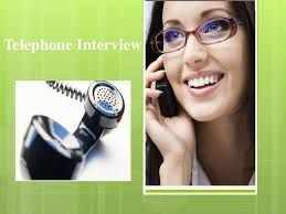 Telephone Interview Questions