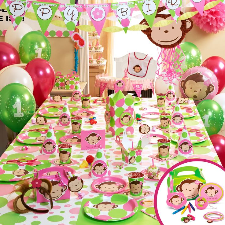 80 best monkey party images on Pinterest Birthday party ideas