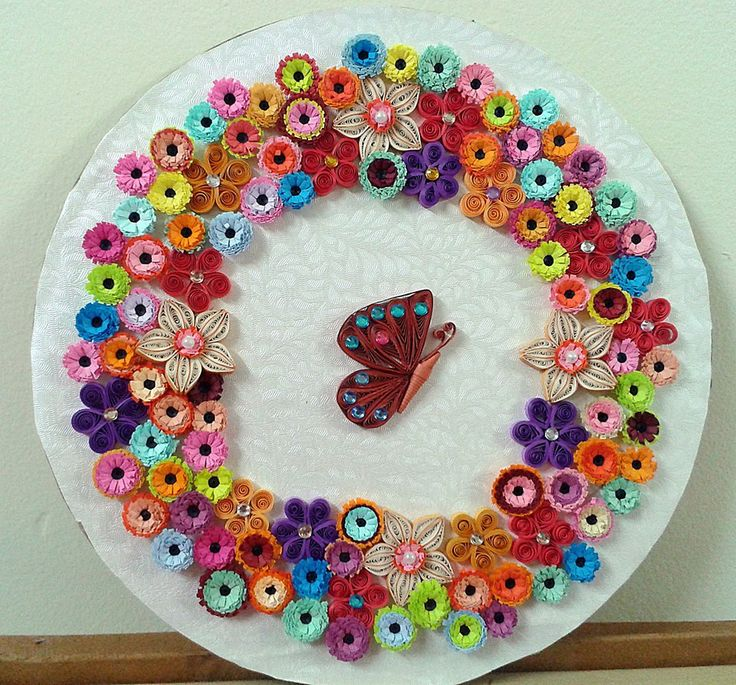Indeed a unique quilling craft!