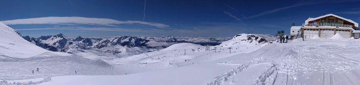 Arrivée sur le glacier des 2 Alpes