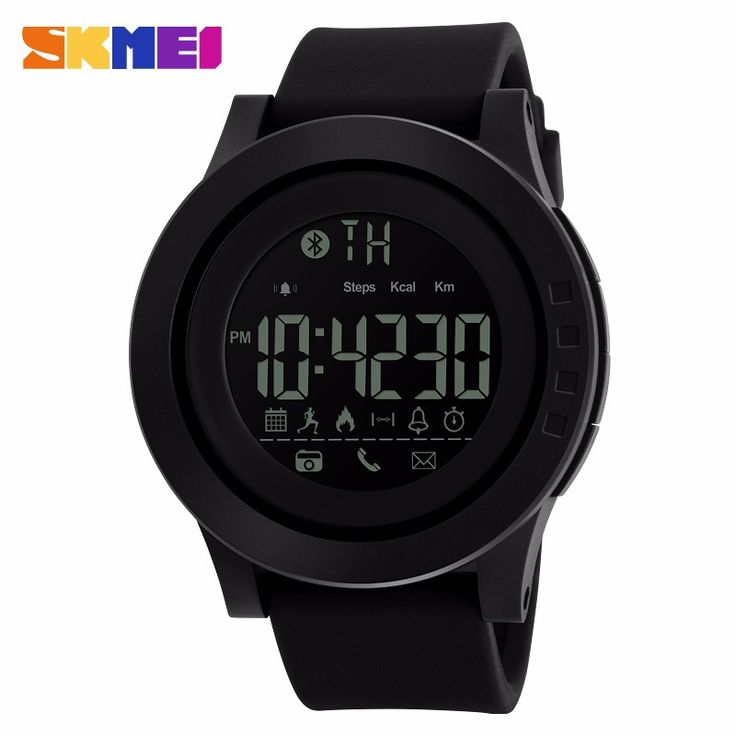 SKMEI Men Smart Watch Calorie Pedometer Multi-Functions Remote Camera 50M Waterproof Digital Men's SmartWatch Relogio Masculino