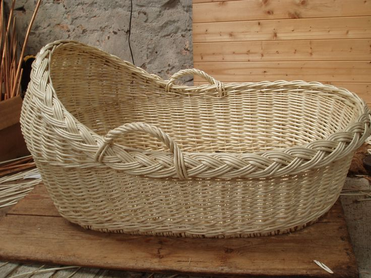 How To Weave A Moses Basket : Best images about shaped corner storage basket on