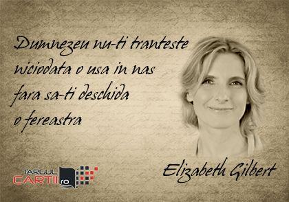 TargulCartii.ro va recomanda operele scriitoarei Elizabeth Gilbert! http://www.targulcartii.ro/elizabeth-gilbert