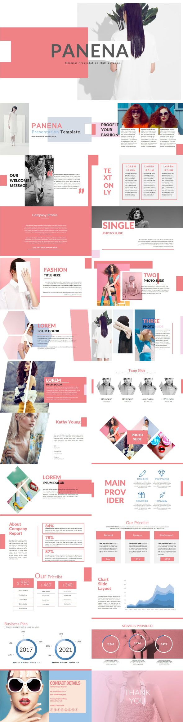 Panena - Multipurpose PowerPoint Template