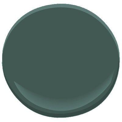 New floor color paint for hallway/office (Ben Moore Tarrytown Green)