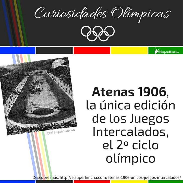 #CuriosidadesOlímpicas #JuegosOlímpicos #Rio2016 #JuegosOlímpicosRio2016 #SabíasQue #Olympics #Olympics2016