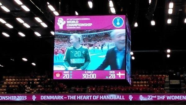 """Handball WM 2015 Dänemark: Rikke Poulsen und Dänemark im Rausch gegen Montenegro » Handball WM 2015 Dänemark:Im zweiten """"Halbfinale um die Plätze fü ..."""