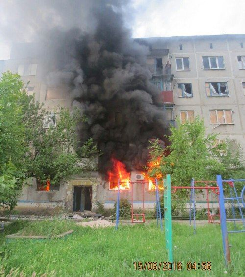 Ukrainian aggressors fired from artillery guns on the civilians of Donbass ПРО РУССКИЙ ДОНБАСС.