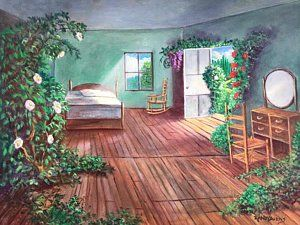 Painting - Dorothys House After The Passage Of Time by Randol Burns