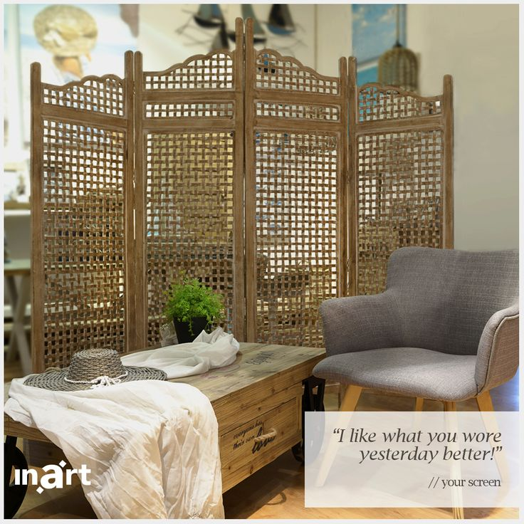 Let's just imagine that your screen could speak. What would it say? Now, that would be really interesting!  #inart #HomeDecor #Decor #Decoration #Furniture #FurnitureDesign #Room #Quote #Quotes #Screen