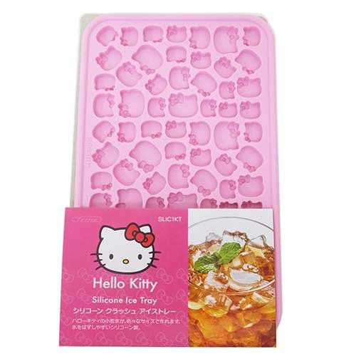 The recommended !! New arrival !! Silicon ice trays make a cute small particle of ice Popular HELLO KITTY Here very convenient [Ice Tray] You can easily