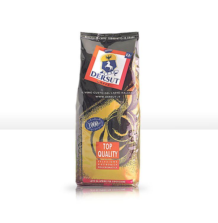 Arancio: Miscela caffè corposa dal gusto pieno ma leggero, certificata Espresso Italiano di Qualità.