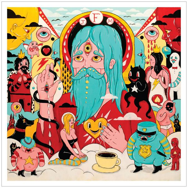 Father John Misty / Fear Fun: Fleet Foxes, Father'S John, Dimitri Drjuchin, Fear Fun, Hollywood Forever, Albums Covers, Forever Cemetery, John Misty, Albums Art