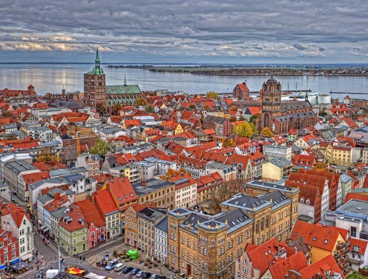 Altstadt,Stralsund, Germany...