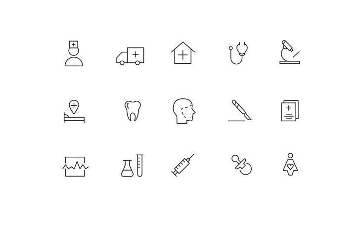 "Icons ""Medicine"""