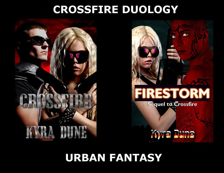Crossfire Duology by Kyra Dune