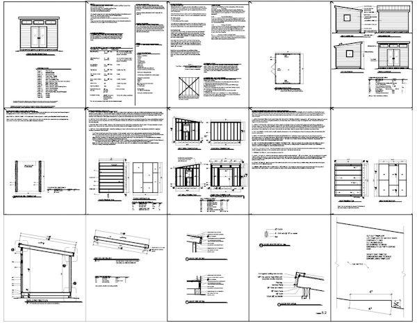17 best images about modern sheds on pinterest art for 10x14 shed floor plans