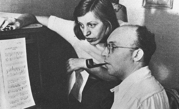 Kurt Weil and Lotte Lenya