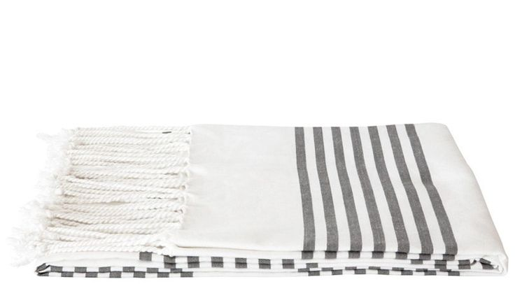 Crafted to perfection in Karur, India, these Hammam towels are lightweight, absorbent and quick drying.