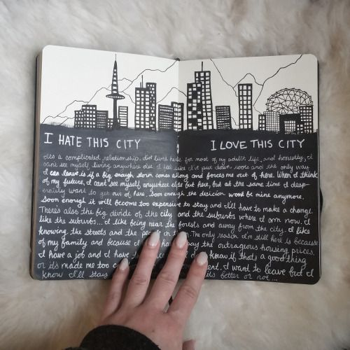 mercurialmilk: I hate this city // I love this city